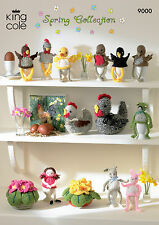 KING Cole serie 9000. COLLEZIONE PRIMAVERA-galline, uova Cosies, Pot of candelabra