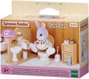 Sylvanian Families Toilet Set - Brand New