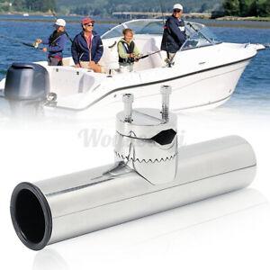 Fishing Rod Holder Stainless Steel Rail Mount Rail 26-32mm For Marine/Boat UK