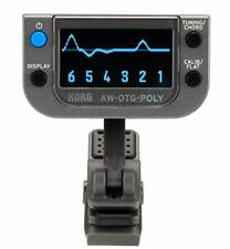 KORG AW-OTG-POLY polyphonic clip tuner guitar tuner from japan +Tracking number