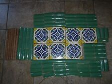 California Tiles lot of many pieces Vintage