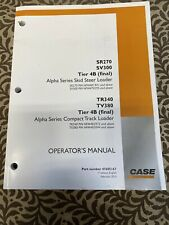 Case Skid Or Track Loader Ops Manual