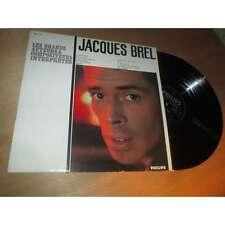 JACQUES BREL les grands auteurs & compositeurs interpretes PHILIPS 6332 076 Lp