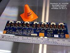 "ViewSonic 32"" N3235W Backlight Inverter Board Chunghwa VIT68001.94 Rev1.2"