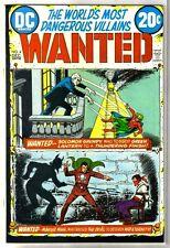 WANTED #4 Solomon Grundy & Master Man! DC Comic Book ~ VF