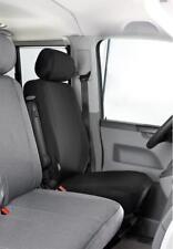 VW T6 Sitzbezug passgenau Fahrersitz/Beifahrersitz Passform-Schonbezug schwarz