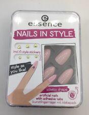 essence Nails In Style Stiletto Shape 03 Kunstfingernägel zum Aufkleben *neu* ❤️