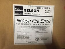 (Box of 6) EGS ELECTRICAL NELSON FIRE BRICK AA0834 (NEW)
