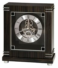 """635-177  HOWARD MILLER MANTEL CLOCK """"BATAVIA"""" WITH """"SKELETON"""" LOOK"""