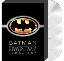 Batman Motion Picture Anthology 1989-1997 4 films (DVD) 8 disc special editions