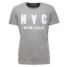 0189AC maglia uomo SELECTED HOMME cotton grey t-shirt men