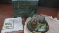 "New Thomas Kinkade Painter Of Light Lighted Cottage Collection ""A Quiet Evening"""