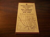 JANUARY 1943 ERIE RAILROAD TRAIN SCHEDULES AND FARES MIDTOWN NEW YORK CITY