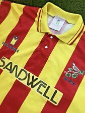 West Brom Away Shirt 1991-92  EXTREMELY RARE 1992 XL WBA West Bromwich Albion 90