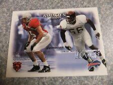 L#612 2000 Skybox Dominion #242 Brian Urlacher, rookie, Chicago Bears, NRMT