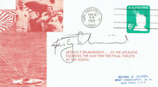 Rusty SCHWEICKART Signed Autograph First Day Cover 2 FDC AFTAL Apollo Astronaut