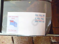 1988 VENDING MACHINE FRAMA ISSUE NEW ZEALAND  FIRST DAY  COVER