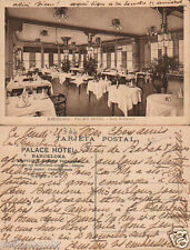 ANTIGUA POSTAL PALACE HOTEL SALON RESTAURANT BARCELONA OLD POSTCARD      CC00900