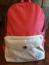 The Herschel Supply Co Coral And Cream Backpack