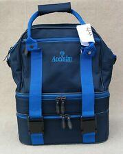 ACCLAIM Tees Mini Triple Style Flat Green Bowling Bag Navy/Sky Ex Display (44)