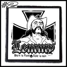 LEMMY KILMISTER  --- Patch / Aufnäher --- Various Designs