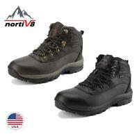 NORTIV 8 Men lnsulated Waterproof Construction Hiking Outdoor Winter Snow Boots