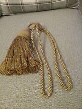 Dunelm long tassel tie back