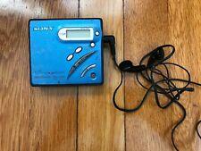 New listing Sony Mz R500 Blue Portable Walkman