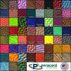 550 Paracord Rope Type III Mil-Spec - 60 Colors & Patterns! - 25,50,100 FT