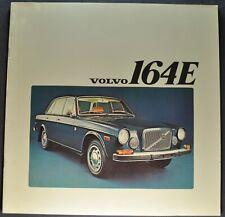 1973 Volvo 164E Large Catalog Sales Brochure Excellent Original 73