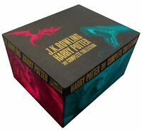 J K Rowling Harry Potter Boxed 7 Books Collection Complete Set Gift Box NEW