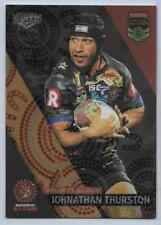 2017 NRL Elite All Stars Box Card (AS 1) Johnathan THURSTON Indigenous All Stars
