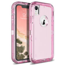 For iPhone X 7 8 Plus Clear TPU Bumper Heavy Duty Cover Full Body Phone Case