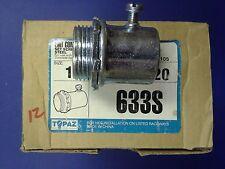 """TOPAZ EMT connector 1"""" - SET SCREW TYPE STEEL Lot of 12 pieces"""