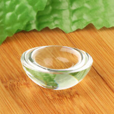 40mm Clear Half Sphere Crystal Ball Paperweight Magnifying Glass Decoration