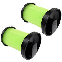 2-Pack Replacement Filter for Gtech Multi MK2 Handheld Cordless Vacuum Cleaners