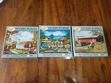 3 PUZZLE jigsaw~ Bits and pieces Country Afternoon, New Arrivals, Inspiration II