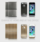 inpofi WirelessCharging System for iPhone 5/5S Charcoal Fast Charge New KC001
