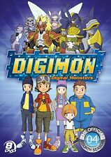 Digimon Frontier . Digital Monsters . The Official Fourth Season 4 . 8 DVD . NEU