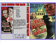 Face Behind the Mask (1941) DVD - Peter Lorre Classic Horror - Case & Artwork