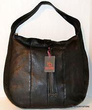 Kelsi Dagger Downtown Brooklyn Leather Black Hobo Bag Handbag Purse Bolsa $ 288