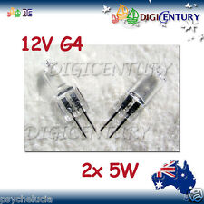 5W 12V G4 HALOGEN GLOBE BULB GARDEN HOME 2 pcs