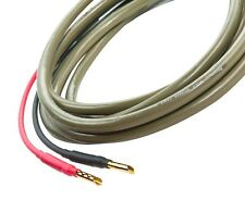 Ecosse Speaker Cable MS2.3 Monocrystal 2 x 2mt pair terminated with Z/X Bananas
