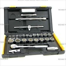 STANLEY 27pce Socket Set 86-477 - 1/2dr (10-32mm)