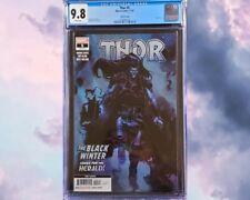 🔥🚨 Thor (2020) #5 Third Printing Nic Klein Cover CGC 9.8 Black Winter 1st App