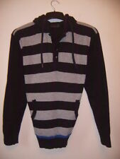 Hooded Striped Jumpers & Cardigans for Men NEXT