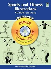Sports and Fitness Illustrations by Dover Publications Inc