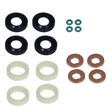 Ford Focus C-Max Fusion 1.6 TDCi Fuel Injector Seal Washer O-Ring Protector Set
