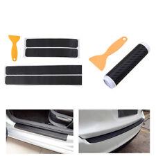 4x Einstiegsleisten Schutz +Premium Ladekantenschutz-Folie Schutz Kratzer Carbon