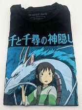 Miyazaki's Spirited Away T-Shirt Bioworld Size S Studio Ghibli